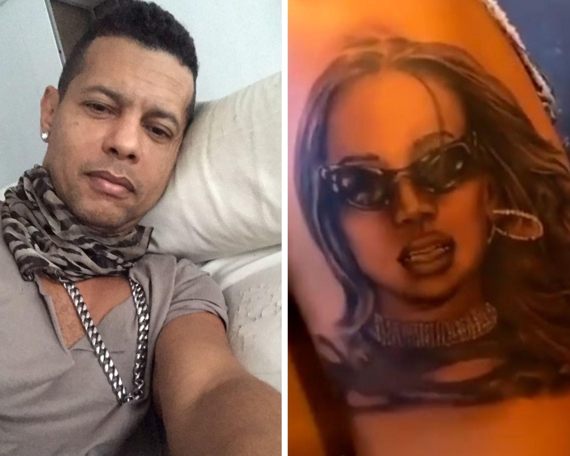 Funkeiro Que Tatuou O Rosto De Anitta Diz Que Vai Cobrir Desenho Quem Quem News A carreira de cantor de funk surgiu por uma brincadeira. de anitta diz que vai cobrir desenho