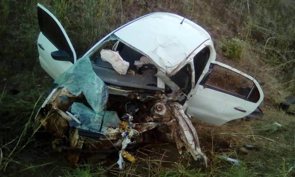 Acidente aconteceu na TO-336, na região central do estado (Foto: Divulgação)