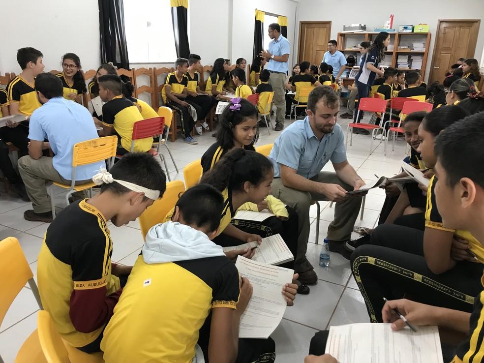 Em Juruti Jovens Recebem Palestras De Motivação Para O