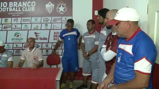 Com atletas emprestados do Barretos-SP, Rio Branco Sub-20 inicia treinos