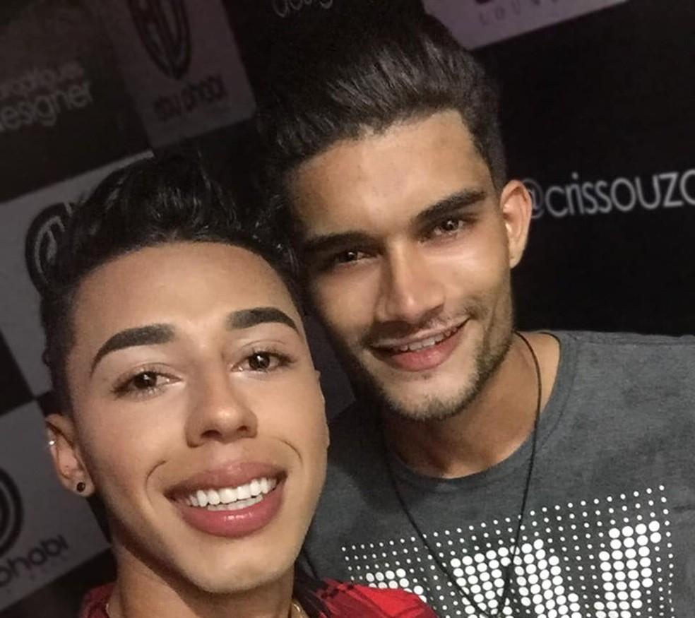 Edilson Matos de Oliveira e Douglas Neves Negreiros moravam em Ariquemes — Foto: Facebook/Reprodução