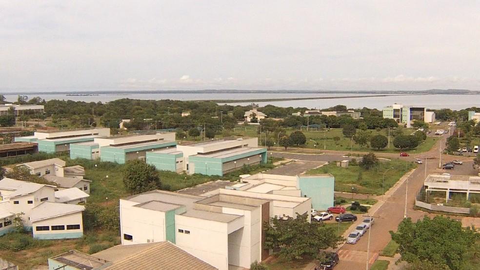 Câmpus Palmas da Universidade Federal do Tocantins (Foto: UFT/Divulgação)