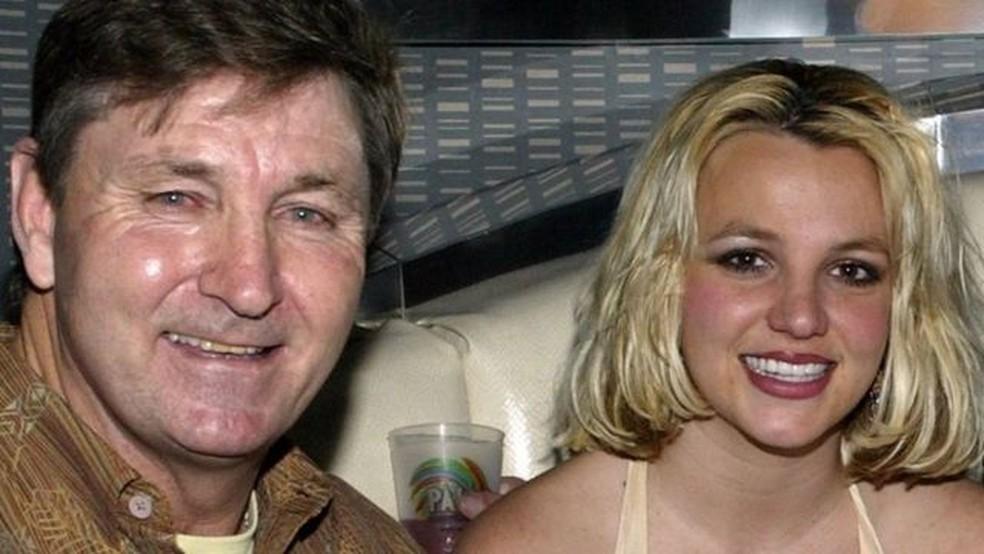 Jamie Spears é o tutor legal da cantora de 39 anos desde 2008 — Foto: Getty Images/BBC