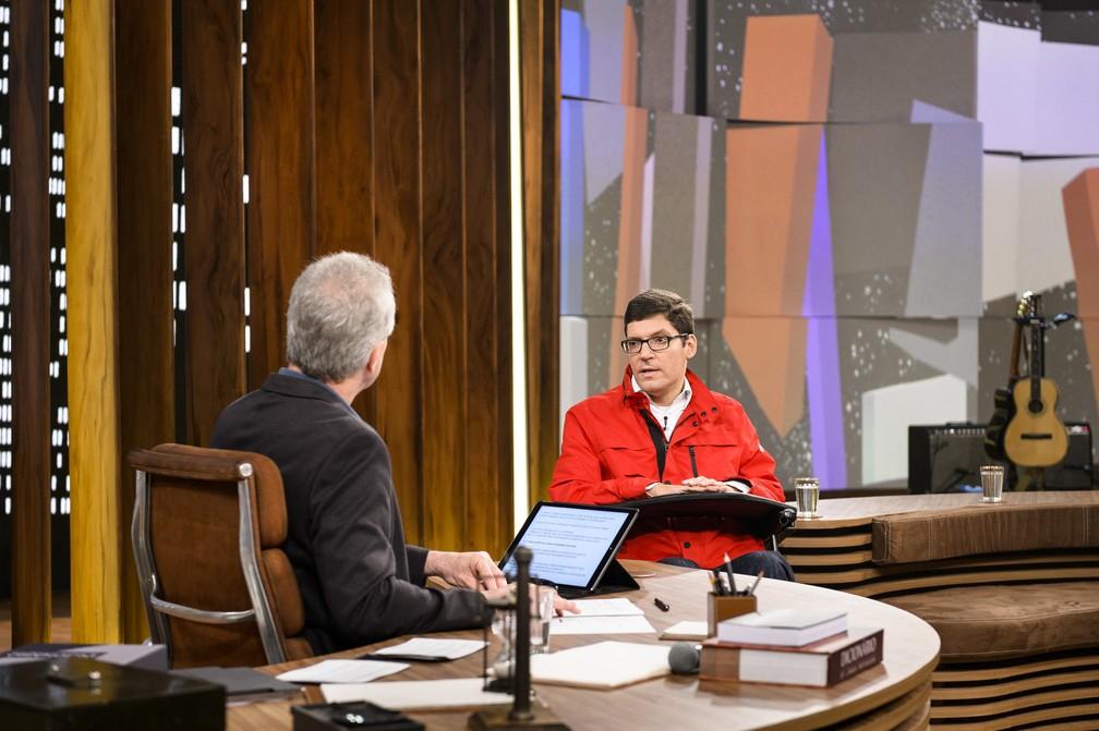 Rodrigo fala sobre seu instituto 'Rodrigo Mendes' (Foto: Ramón Vasconcellos/TV Globo)