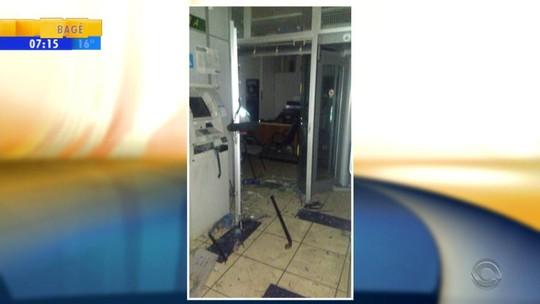 Criminosos invadem duas agências bancárias com uso de explosivos em Colinas