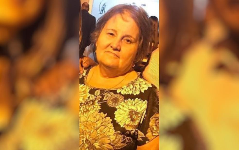 Maria de Lourdes Borges, de 69 anos, morreu vítima da Covid-19 — Foto: Arquivo pessoal/Betina Maria Martins Lopes