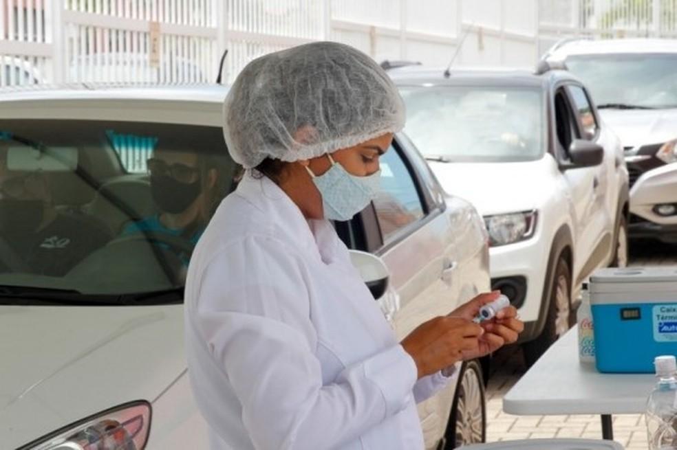 Vacinação contra Covid-19 segue em Natal no fim de semana — Foto: Divulgação