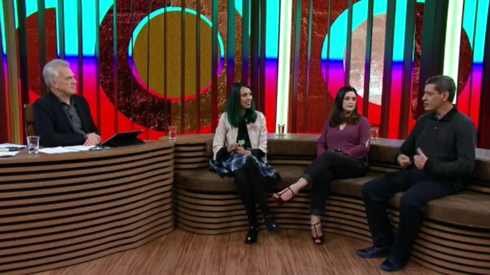 Conversa com Bial promoveu debate sobre autismo (Foto: TV Globo)