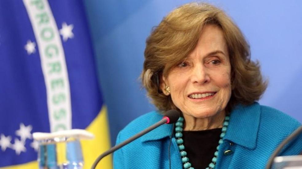 Sylvia Earle, em visita ao Brasil. (Foto: Agência Brasil)
