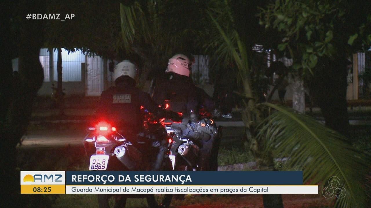 Guarda Municipal de Macapá reforça segurança e fiscalização em praças da cidade