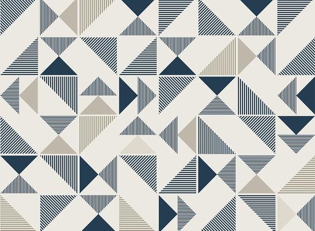 A busca por formas geométricas no Pinterest aumentaram no último ano (Foto: Pixabay)