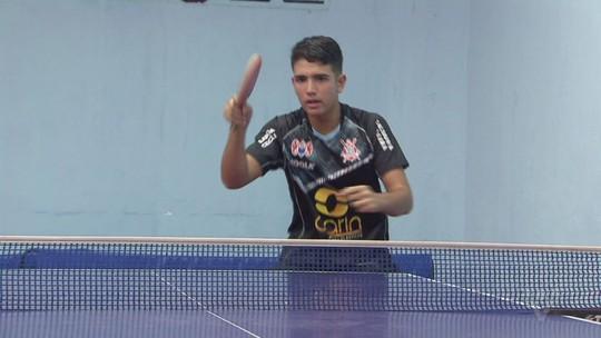 Guilherme Teodoro se prepara para a disputa da Olimpíada da Juventude