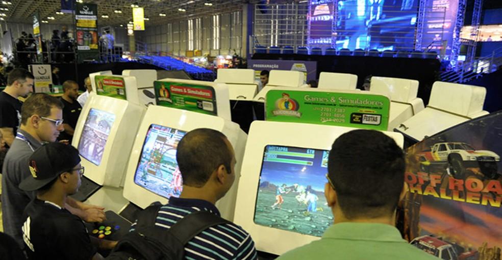 O espaço Arkadium permitirá viver a nostalgia de consoles antigos e jogos no PC (Foto: Divulgação/GGRF)