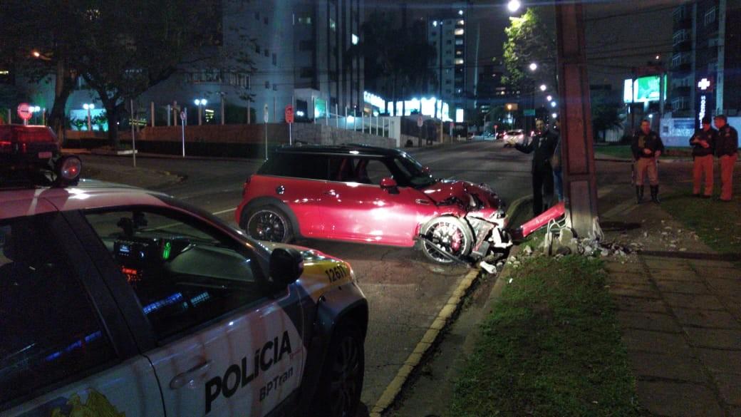 Motorista alcoolizado é preso após acidente em Curitiba, diz polícia - Notícias - Plantão Diário
