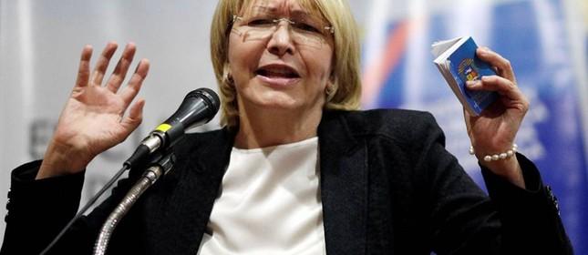 A procuradora-geral da Venezuela, Luisa Ortega Díaz (Foto: (Ueslei Marcelino/Reuters))