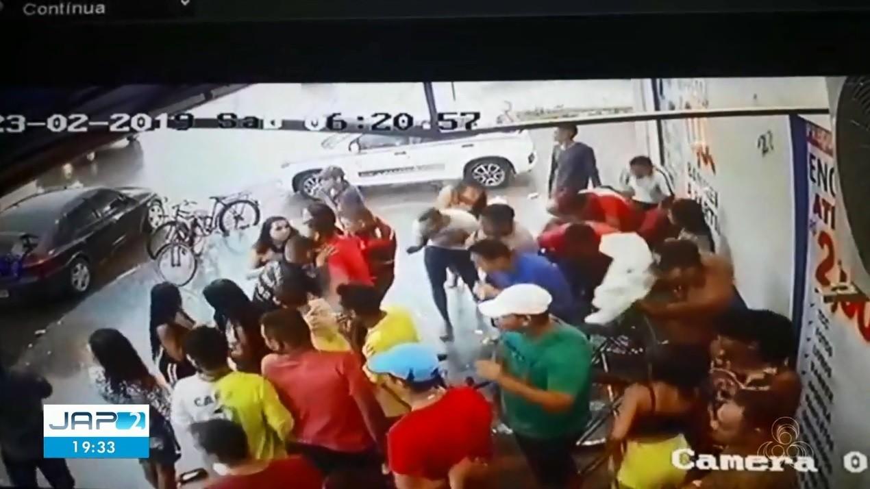 Vídeo mostra momento em que homens que mataram jovem no AP atiram em multidão - Noticias