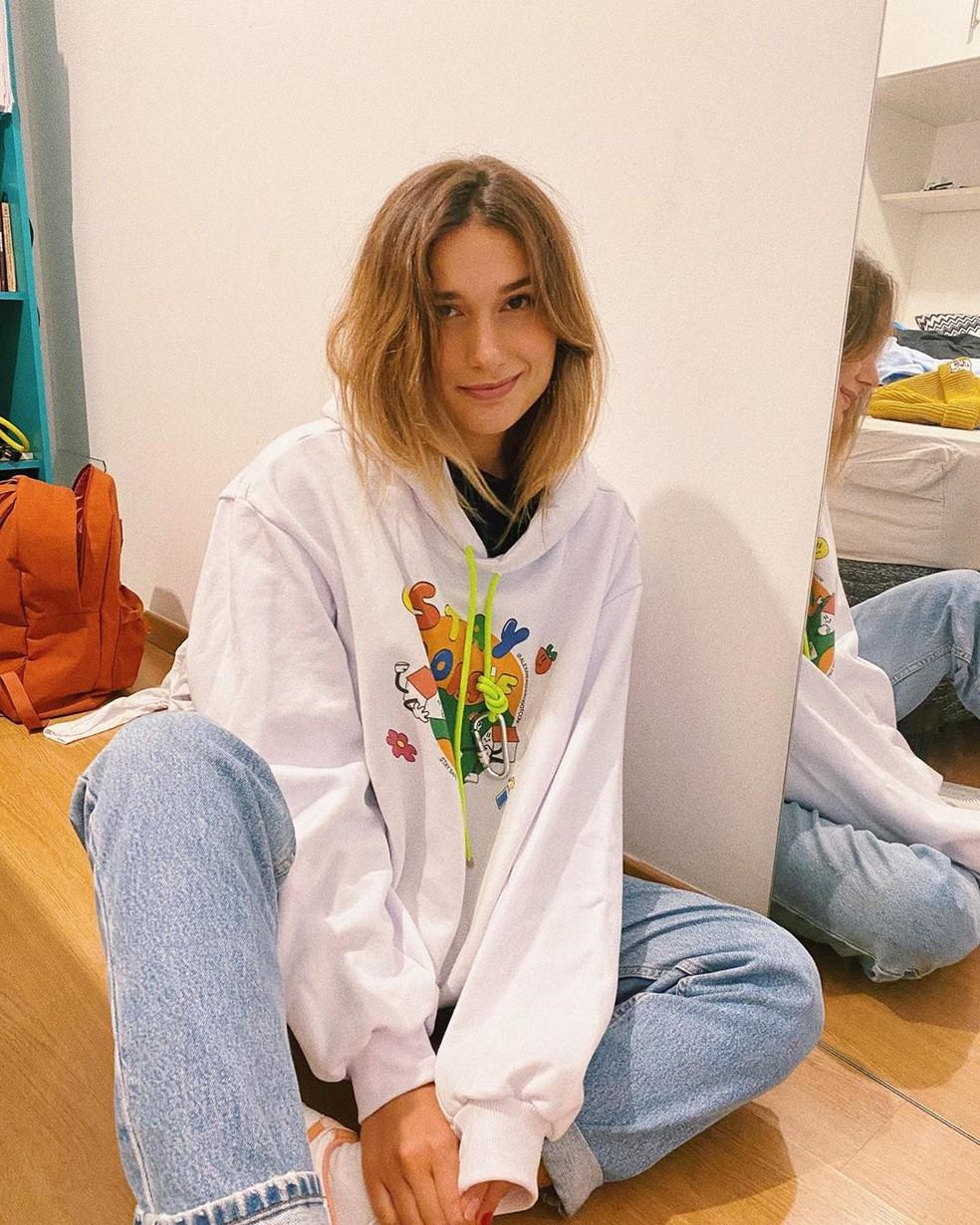 Sasha conta que já se formou na faculdade de Design de Moda — Foto: Reprodução/Instagram