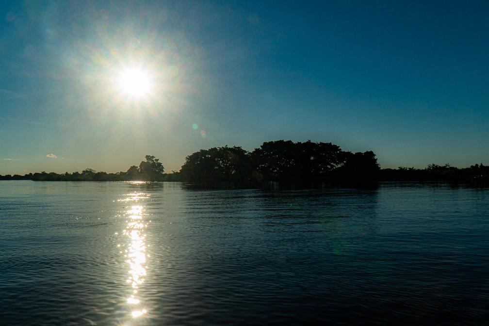 O Pantanal é um dos biomas mais bem conservados do mundo, graças em parte ao fato de que a maior parte dele passa vários meses por ano inundada — Foto: Eduardo Palacio/G1