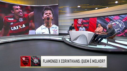 Quem é melhor? Seleção SporTV elege time ideal de Flamengo e Corinthians