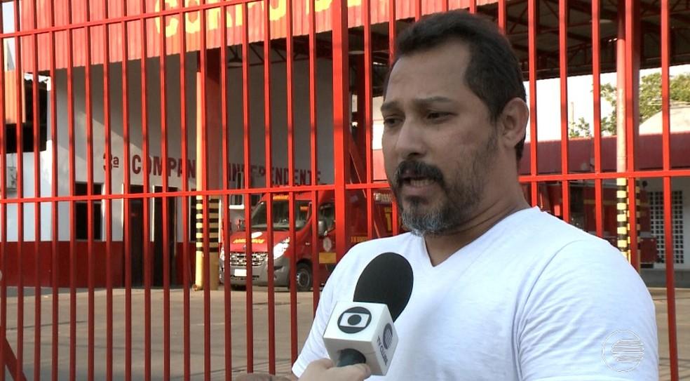 Capitão Anderson Pereira, presidente do diretório municipal do PSL em Teresina â?? Foto: Reprodução/TV Clube