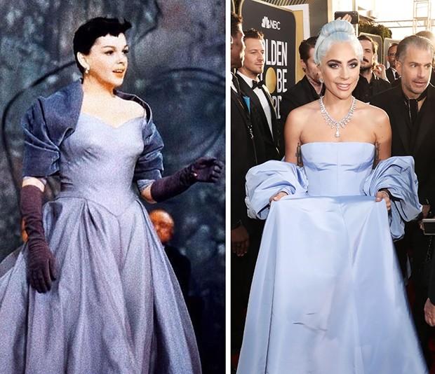 Judy Garland e Lady Gaga (Foto: Reprodução/ Instagram e Getty Images)
