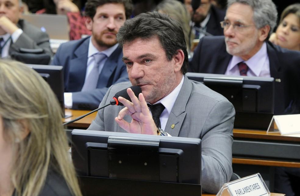 O deputado federal do PT-SP e ex-presidente do Corinthians, Andrés Sanchez (Foto: Luis Macedo/Câmara dos Deputados)