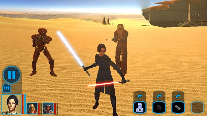 Star Wars: Knights of the Old Republic (Foto: Divulgação)