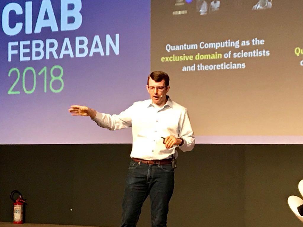 Chris Schnabel, Quantum Offering Manager da IBM (Foto: Época NEGÓCIOS)
