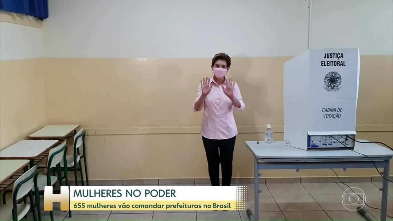 Menos de 12% dos prefeitos eleitos este ano no Brasil são mulheres