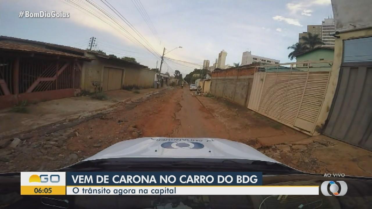 Bom Dia Goiás mostra região sem asfalto na Grande Goiânia