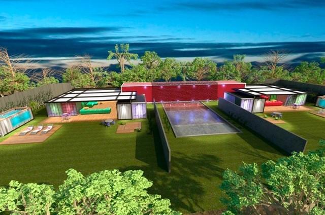 Projeto do cenário do programa de Marcos Mion no Multishow (Foto: Reprodução)