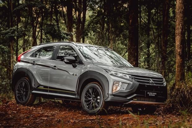 Mitsubishi Eclipse Cross Sport e Outdoor (Foto: Divulgação )
