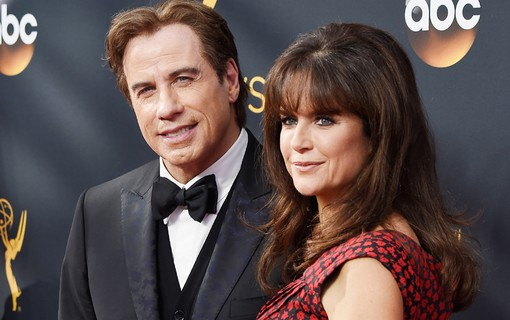 John Travolta e Kelly Preston
