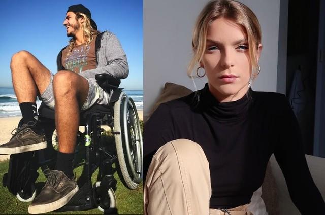 Caio Vaz ficou de cadeira de rodas em 2018 (Foto: Reprodução)