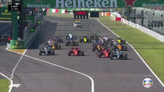 """Verstappen dispara contra Leclerc após choque na primeira volta: """"Pilotagem irresponsável"""""""