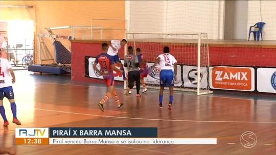 Em jogo quente e com expulsões, Piraí vence Barra Mansa por 5 a 4 e se isola na liderança