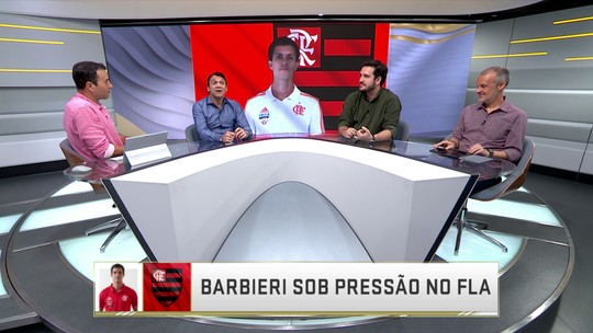 """Seleção analisa pressão sobre Barbieri, e Rizek defende mudança: """"Flamengo  não evolui"""""""