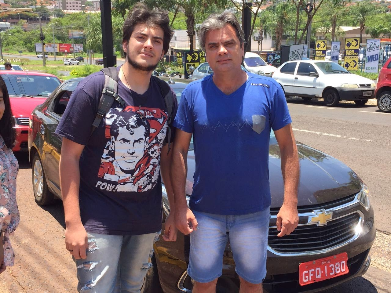 Pai viaja 75 km e gasta R$ 200 para levar o filho de táxi ao vestibular da Unesp em Araraquara