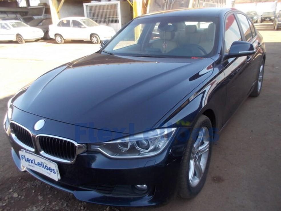 BMW é uma das ofertas do leilão do Detran-DF — Foto: Flexleilões/ Divulgação