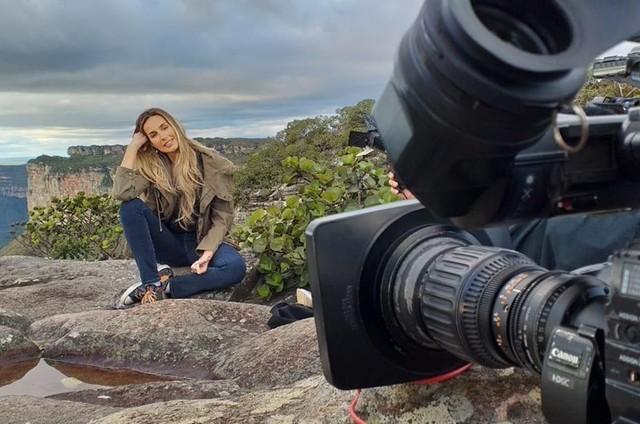 Mariana Weickert estreia domingo como repórter especial do 'Domingo espetacular' (Foto: Arquivo pessoal)