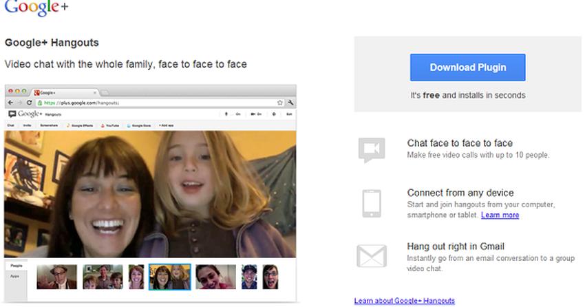 Google+ libera Hangouts em HD para todos os usuários da rede social