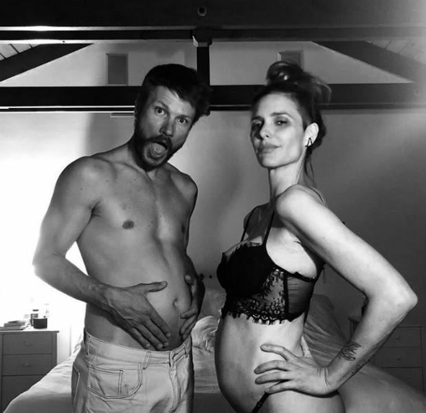 Fernanda Lima e Rodrigo Hilbert anunciam gravidez (Foto: Reprodução Instagram)