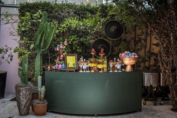 Festa mexicana: inspire-se nesta decoração de bar super colorida (Foto: Douglas Daniel )