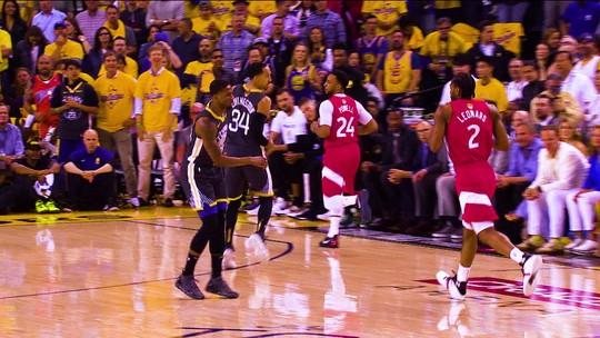 Kawhi Leonard lidera os Raptors no jogo 4 da final e é o cara da semana da NBA