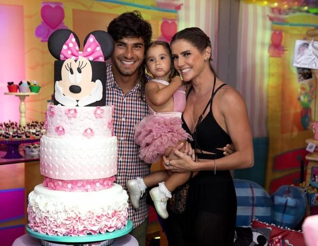 Festa de 2 anos de Maria Flor com o tema Casa da Minnie (Foto: Luiz Alberto Medeiros/Divulgação)
