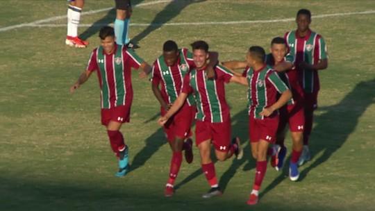 O gol de Ponte Preta 0x1 Fluminense pela 17ª rodada do Campeonato Brasileiro Sub-20