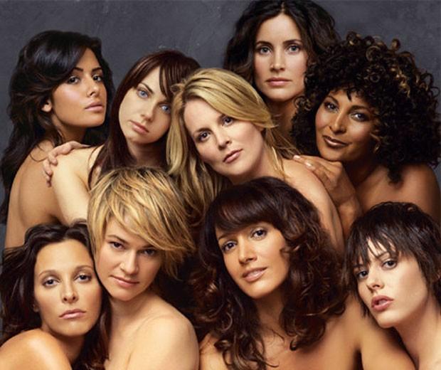 O elenco de The L Word (Foto: Divulgação)