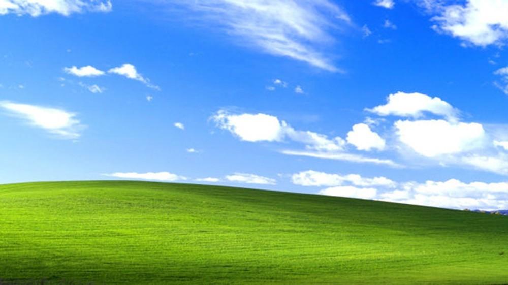 Papel de parede clássico do Windows XP é facilmente reconhecido pelos usuários (Foto: Reprodução)