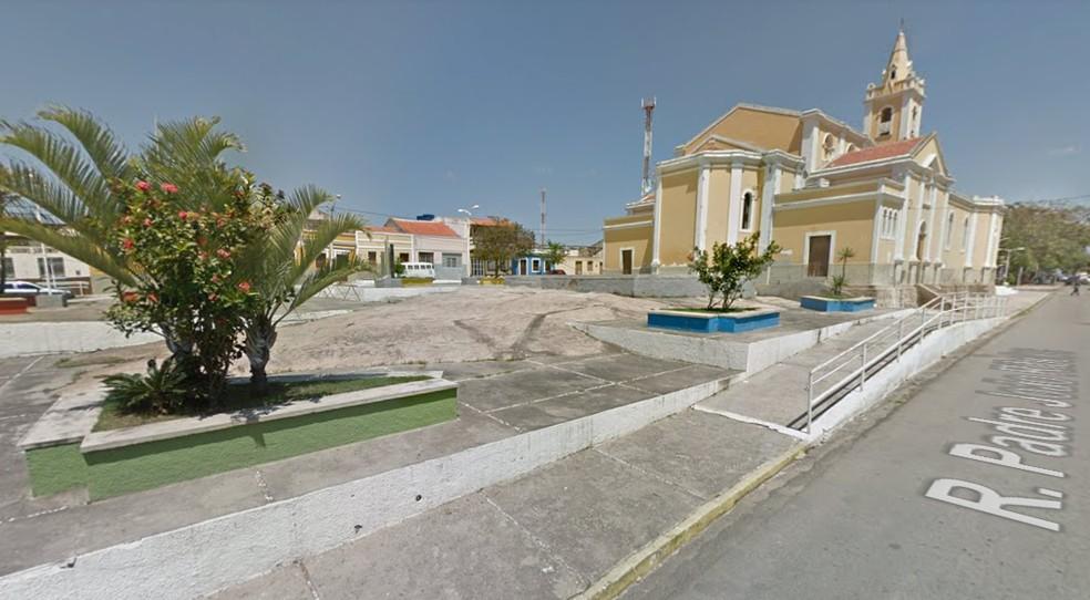 Alagoinha fica no Agreste de Pernambuco — Foto: Google Street View