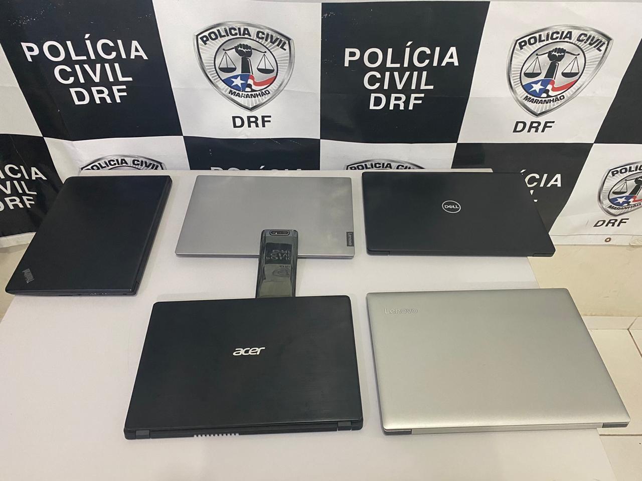 Suspeito de vender equipamentos eletrônicos roubados é preso em São Luís